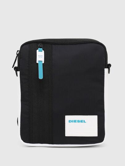 Diesel - ODERZO Z, Dark Blue - Crossbody Bags - Image 1