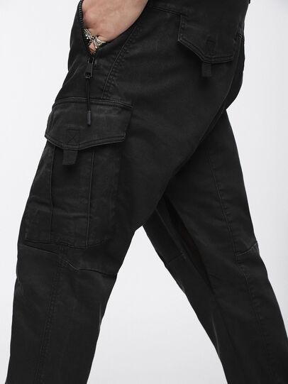 Diesel - Phanto JoggJeans 0EATZ, Black/Dark Grey - Jeans - Image 3