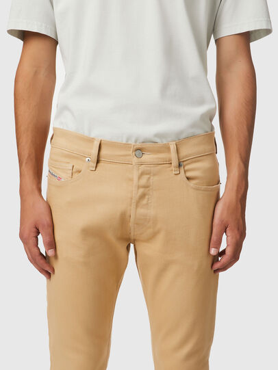 Diesel - D-Luster Slim Jeans 009HA, Light Brown - Jeans - Image 3