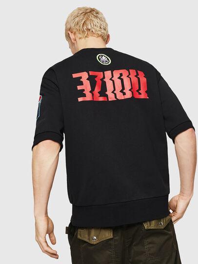 Diesel - S-MAGGY-SH-PATCH, Black - Sweatshirts - Image 2