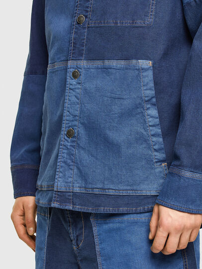 Diesel - D-CORUS-SP JOGGJEANS, Blue - Denim Shirts - Image 5