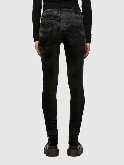 Diesel - Slandy Skinny Jeans 069TC, Black/Dark Grey - Jeans - Image 2