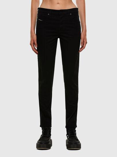 Diesel - Babhila Slim Jeans 069EI, Black/Dark Grey - Jeans - Image 1