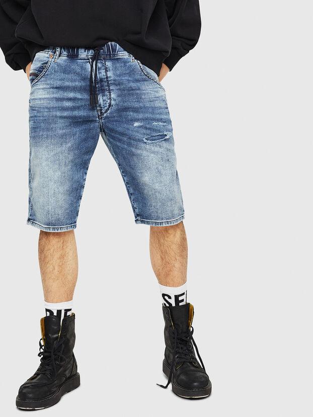 D-KROOSHORT JOGGJEANS, Blue Jeans - Shorts
