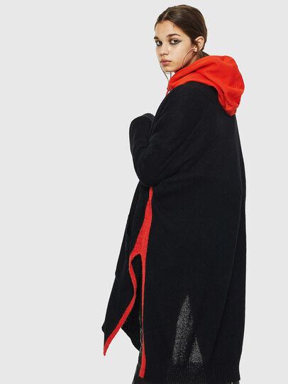 Diesel - M-SURI, Black/Red - Sweaters - Image 5