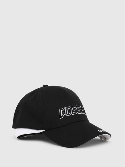 Diesel - CEDOUBLE, Black/White - Caps - Image 1