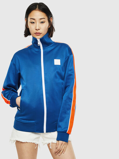 Diesel - S-CORTESS, Blue - Sweatshirts - Image 2