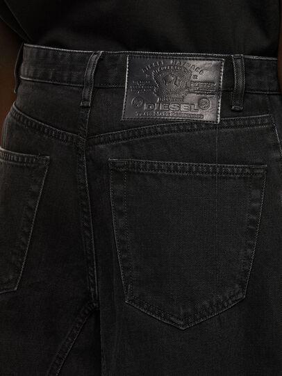 Diesel - D-Spritzz Flare Jeans 009RN, Black/Dark Grey - Jeans - Image 4