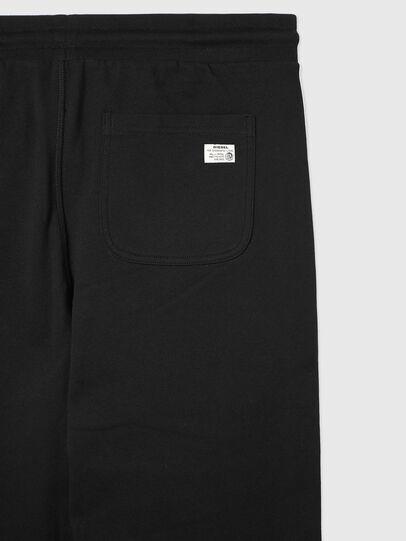 Diesel - UMLB-PETER, Black/White - Pants - Image 4