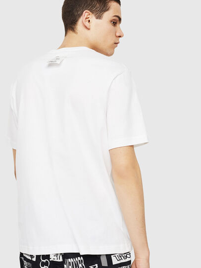 Diesel - T-JUST-Y24, White - T-Shirts - Image 2