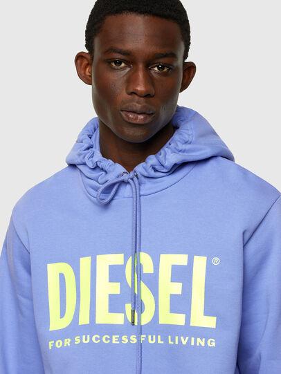Diesel - S-GIR-HOOD-DIVISION-, Lilac - Sweatshirts - Image 3