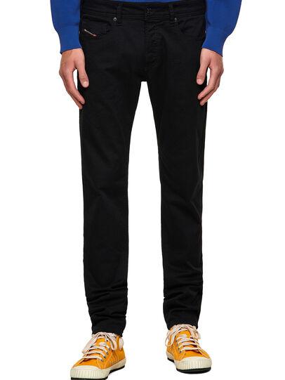 Diesel - Sleenker Skinny Jeans 069EI, Black/Dark Grey - Jeans - Image 1