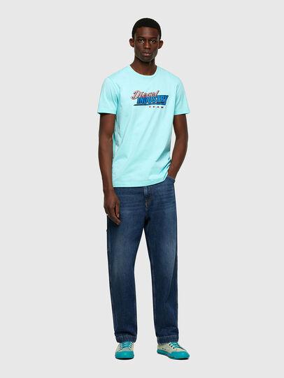 Diesel - T-DIEGOS-K37, Light Blue - T-Shirts - Image 4