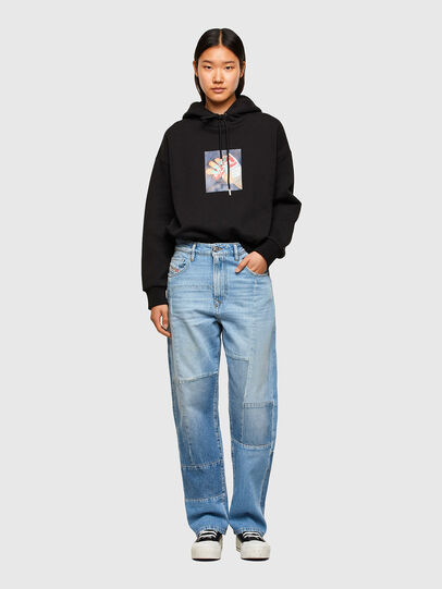 Diesel - D-Reggy Straight Jeans 009ND, Light Blue - Jeans - Image 6