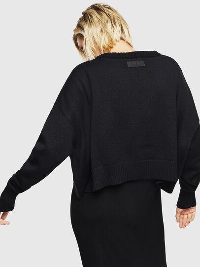 Diesel - M-TAO, Black - Sweaters - Image 2