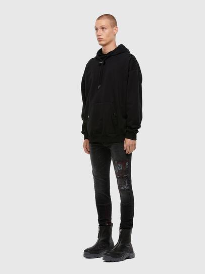 Diesel - D-Amny 009KS, Black/Dark Grey - Jeans - Image 7