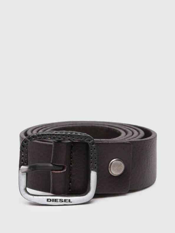 B-HALF, Dark Brown - Belts