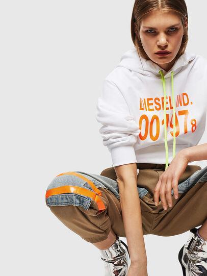 Diesel - S-GIRK-HOOD, White - Sweatshirts - Image 6