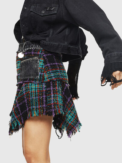 Diesel - O-BRYEL, Multicolor - Skirts - Image 3