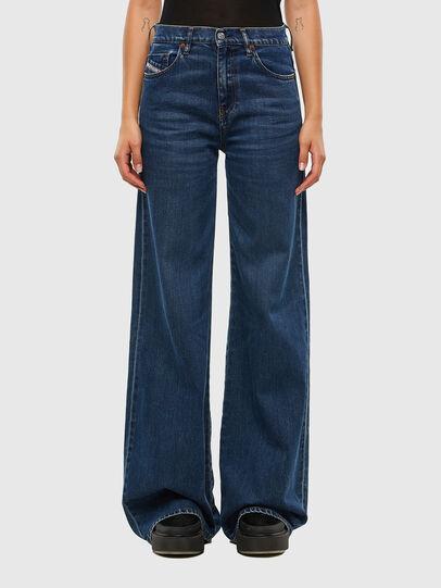 Diesel - D-Akemi Bootcut Jeans 009KE, Medium Blue - Jeans - Image 1