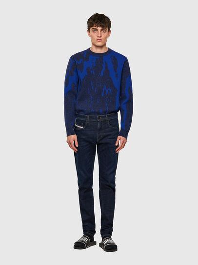 Diesel - D-Strukt Slim JoggJeans® Z69VI, Dark Blue - Jeans - Image 5