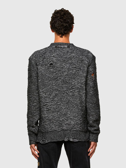 Diesel - K-JOSH, Black - Sweaters - Image 2