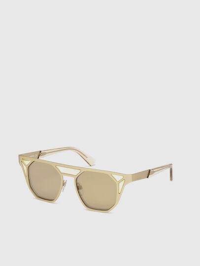 Diesel - DL0249, Gold - Sunglasses - Image 4