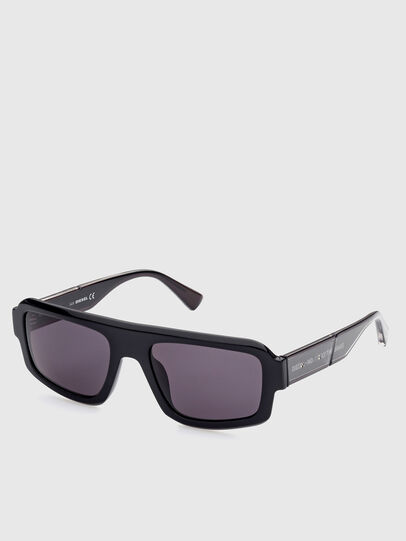 Diesel - DL0348, Black - Sunglasses - Image 2