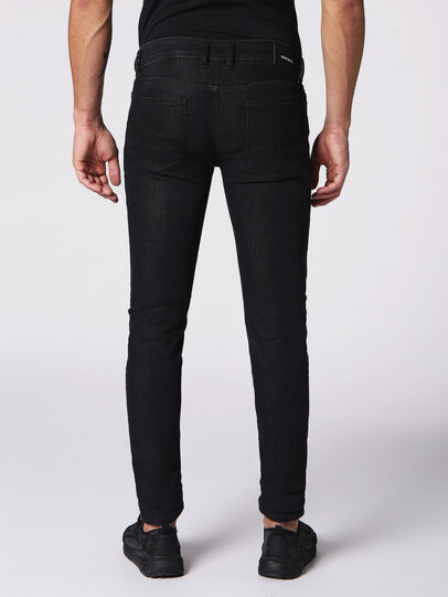 Diesel - Sleenker 084SB, Black/Dark Grey - Jeans - Image 2