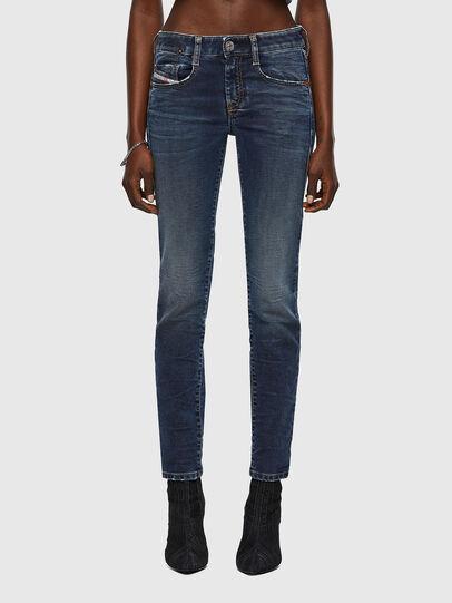 Diesel - D-Ollies Slim JoggJeans® 069WY, Dark Blue - Jeans - Image 1