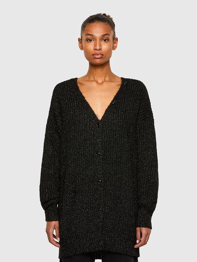 Diesel - M-CORAL, Black - Sweaters - Image 1