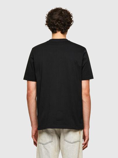Diesel - T-JUST-B60, Negro - Camisetas - Image 2