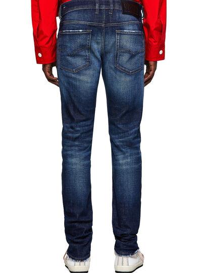 Diesel - Sleenker Skinny Jeans 09A27, Dark Blue - Jeans - Image 2