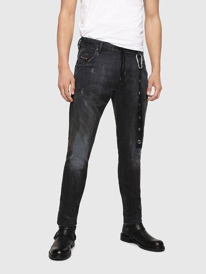 Diesel - Krooley JoggJeans 069IA, Black Jeans - Jeans - Image 1