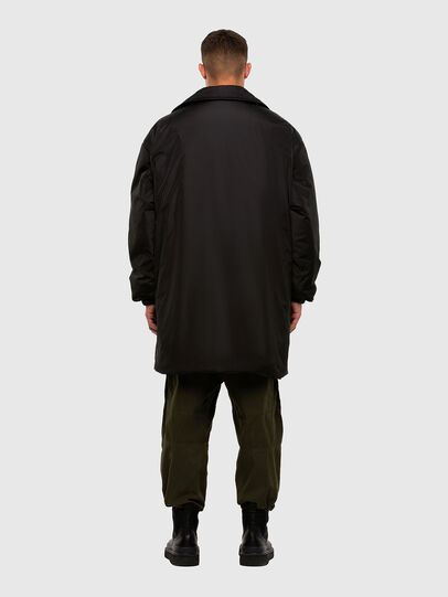 Diesel - W-KODYN, Black - Winter Jackets - Image 2