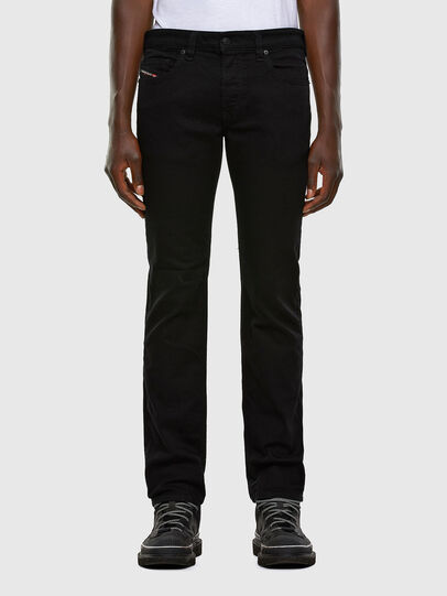 Diesel - Safado Straight Jeans 0688H, Black/Dark Grey - Jeans - Image 1
