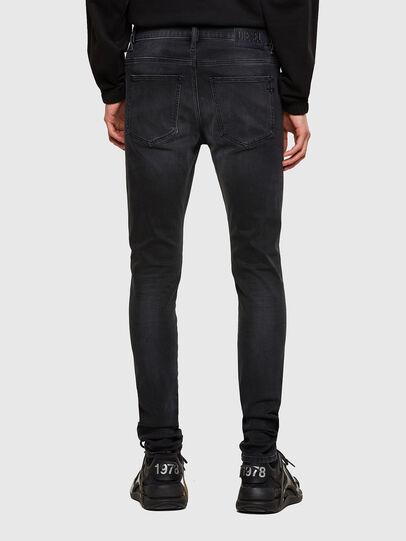 Diesel - D-Istort 069SB, Black/Dark Grey - Jeans - Image 2