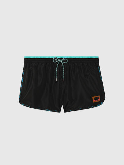 Diesel - BMBX-REEF-30, Black - Swim shorts - Image 4