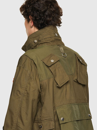 Diesel - J-BATTLE, Military Green - Jackets - Image 3