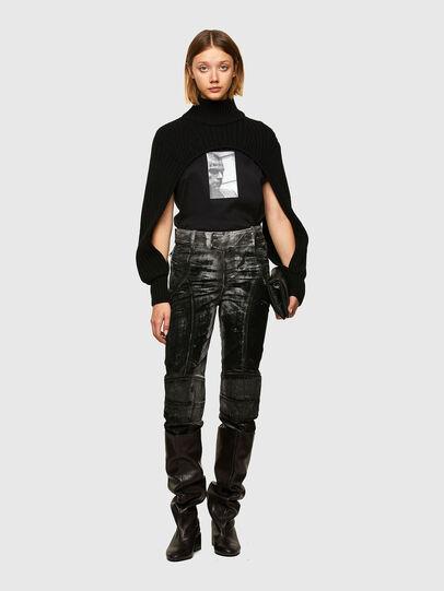 Diesel - M-BENAZIR, Black - Sweaters - Image 5