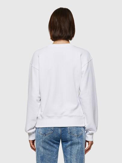Diesel - F-LYM-C.C, White - Sweatshirts - Image 2