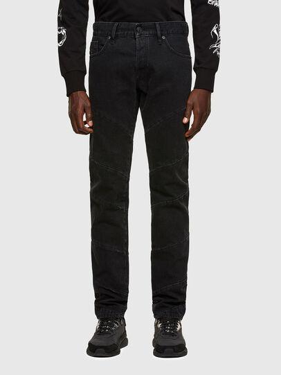 Diesel - D-Kras Slim Jeans 009RC, Black/Dark Grey - Jeans - Image 1