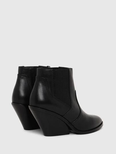 Diesel - D-FLAMINGO CB, Black - Ankle Boots - Image 3