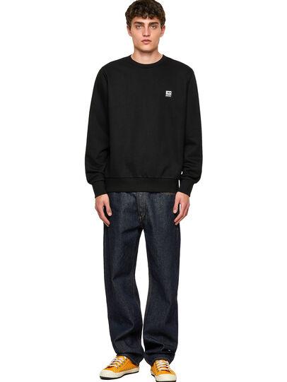 Diesel - S-GIRK-K12, Black - Sweatshirts - Image 4