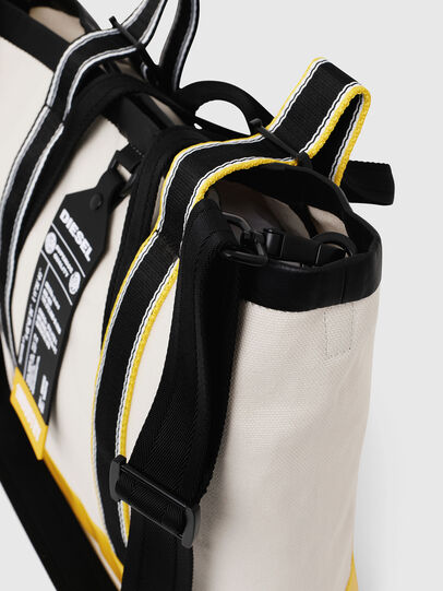 Diesel - F-CAORLY T BACK, White/Black - Shopping and Shoulder Bags - Image 4