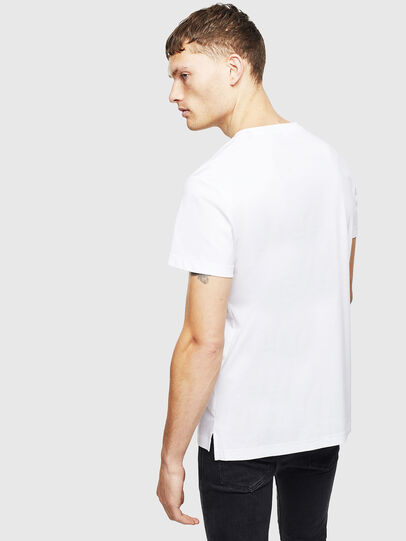 Diesel - T-GROSSI, White - T-Shirts - Image 2
