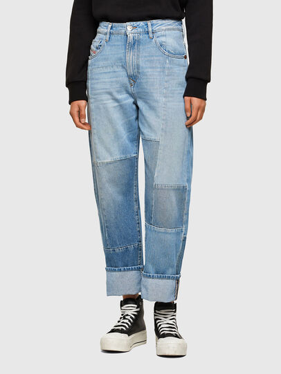 Diesel - D-Reggy Straight Jeans 009ND, Light Blue - Jeans - Image 1