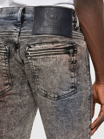 Diesel - D-Amny Skinny Jeans 009VG, Black/Dark Grey - Jeans - Image 3