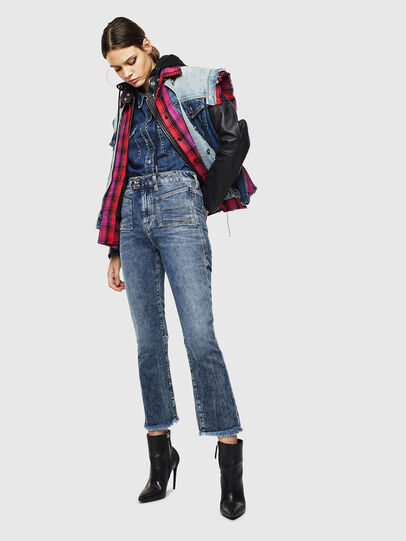 Diesel - D-Earlie 0098W, Medium Blue - Jeans - Image 7