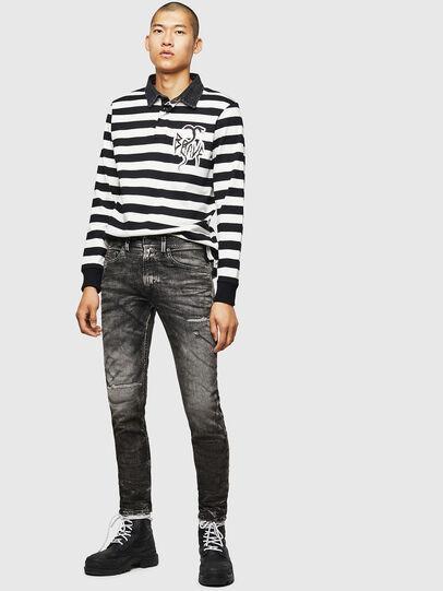 Diesel - Thommer JoggJeans 0890B, Black/Dark Grey - Jeans - Image 6